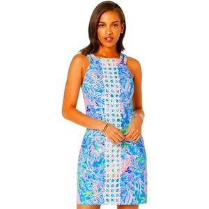 NEW Lilly Pulitzer Pearl stretch shift dress